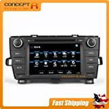 2010-2013 Toyota Prius In-dash GPS Navigation DVD Radio Satellite Sirius-Ready Touch Screen Bluetooth Hands-free OE Fit Plug and Play iPod-ready USB SD CD Player Audio Video Multimedia Playback AV Receiver for runner Astrium GEE-6675