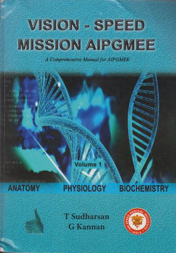 Vision Speed Mission AIPGMEE (A Comprehensive Manual) : Anatomy ...