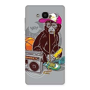 Premium Monkey Music Back Case Cover for Redmi 2 Prime