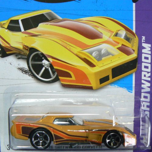 Hot Wheels HW Showroom '76 Greenwood Corvette 208/250
