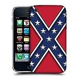 Head Case Designs Rebel Flag Redneck Pride Hard Back Case Cover for Apple iPhone 3G 3GS