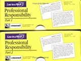 Professional Responsibility (Law in a Flash Cards) (Double Card Set) (0735540071) by Emanuel, Steven