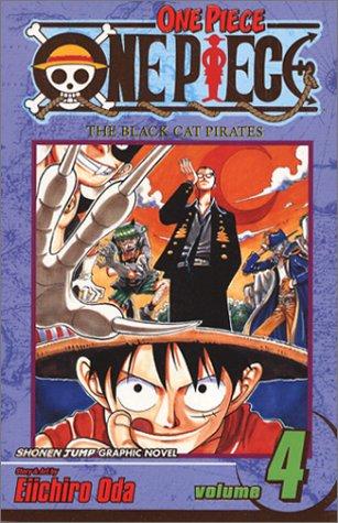 ONE PIECE ワンピース コミック4巻 (英語版)
