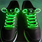 Unique Eye-catching Fashionable Party / Halloween / Waterproof / Washable / Durable LED Flashing Shoelaces for Adults, Teenagers and Children