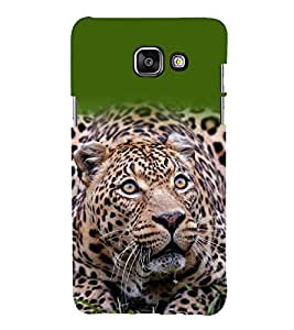 printtech Nature Animal Leopard Back Case Cover for Samsung Galaxy A3 (2016)