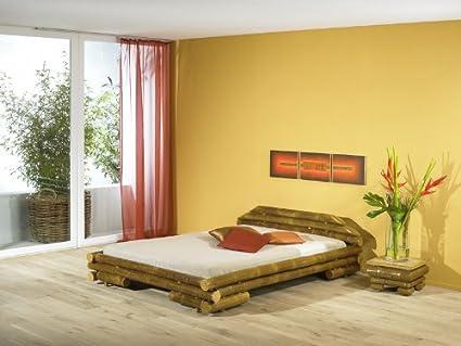 Bambusbett MAUI Bett aus Bambus 160x200cm (ohne Lattenrostauflage)