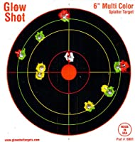 60 Pack - 6&quot; Reactive Splatter Targets - GlowShot - Multi Color - See Your Hits Instantly - Gun &amp; Rifle Targets - Glow Shot - Seach Glowshot for all our 6&quot;, 8&quot; &amp; 10&quot; Packs from Glowshot Targets