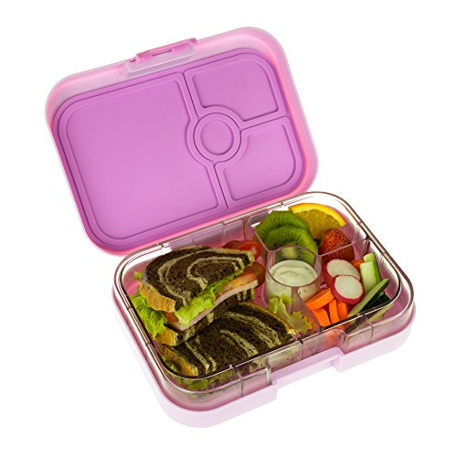 yumbox panino pink lemonade leakproof bento lunch box container for kids and adults home. Black Bedroom Furniture Sets. Home Design Ideas