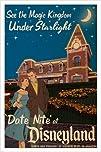date night AT DISNEYLAND vintage post…