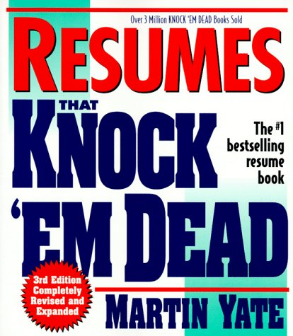 Image for Resumes That Knock 'Em Dead (3rd ed)