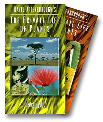 David Attenborough's Private Life of Plants: A Dazzling Kaleidoscope of the Essence of Life on Earth (Six VHS Tape Set)
