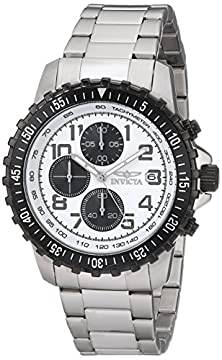 buy Invicta Men'S 5999 Pilot Collection Stainless Steel Chronograph Watch