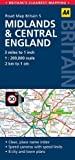 AA Publishing 5. Midlands & Central England: AA Road Map Britain