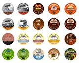Crazy Cups Flavored Gift Sampler, K-Cup Portion Pack for Keurig Single-cup for Keurig K-Cup Brewers (Pack of 20)
