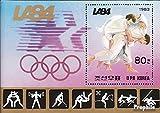 norte-Corea block156 (completa.edición.) nuevo con goma original 1983 olímpicos. juegos de verano ?84, L. Un. (sellos para los coleccionistas)