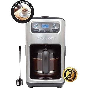 Amazon Com Farberware 12 Cup Digital Programmable Coffee