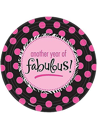 Another Year Of Fabulous Dinner Plate (8 Pack)