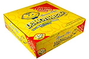 24 Boxes of Ferrara Pan Lemonhead Lemon Head Candy