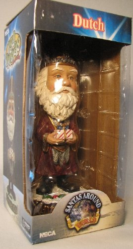 NECA Santas Around the World Head Knockers - Dutch Sinter Claus