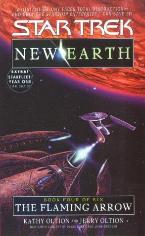 Image for The Flaming Arrow (Star Trek: New Earth, Book 4)