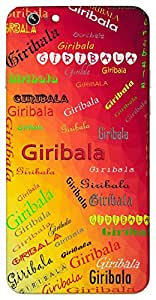 Giribala (Strong like a hill Nervy) Name & Sign Printed All over customize & Personalized!! Protective back cover for your Smart Phone : Moto G-4-PLAY