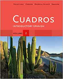 Amazon.com: Student Activities Manual, Volume 2 for Cuadros Student