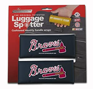 MLB Atlanta Braves Two-Pack Luggage Spotter by Rico