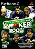 echange, troc World Championship Snooker 2003