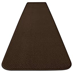 Skid-resistant Carpet Runner - Chocolate Brown - 8 Ft. X 27 In. - Many Other Sizes to Choose From