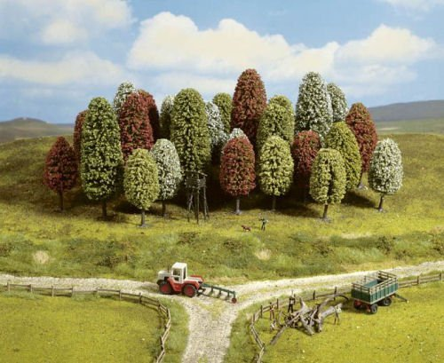 Noch 26406 HO Spring Trees (10)