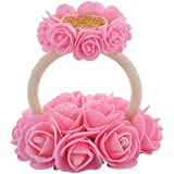 Aesthetic Creations Rubber Tealight Candle Holder (14 Cm X 14 Cm X 13 Cm, Pink & White)