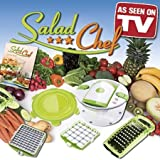 51WGKtesfAL. SL160  7 Piece Salad Chef Set   As Seen on TV product   Fastest Salad Making System in the World