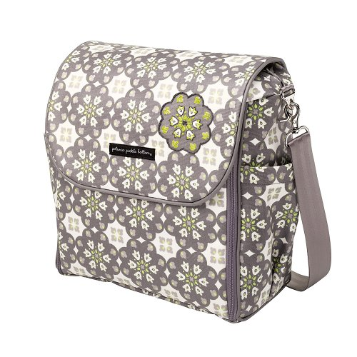 Boxy Backpack Diaper Bag - Misted In Marseille