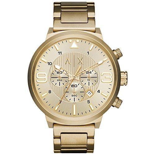 Armani-Exchange-Mens-AX1368-Analog-Display-Analog-Quartz-Gold-Watch
