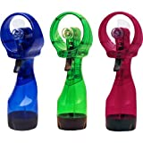 Deluxe Water Misting Fan (Assorted Colors)(Sold individually)