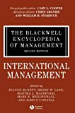 img - for The Blackwell Encyclopedia of Management, International Management (Blackwell Encyclopaedia of Management) (Volume 6) book / textbook / text book
