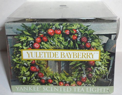 Yuletide Bayberry Yankee Candle 12 Count Tea Lights