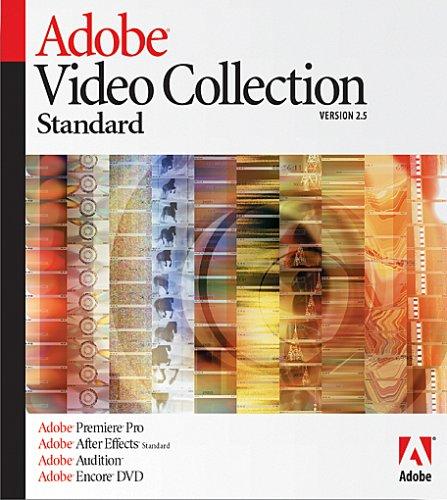 Adobe Video Collection Standard - (Version 2.5 ) - Coffret De Mise À Niveau - 1 Utilisateur - Mise À Niveau De Adobe A