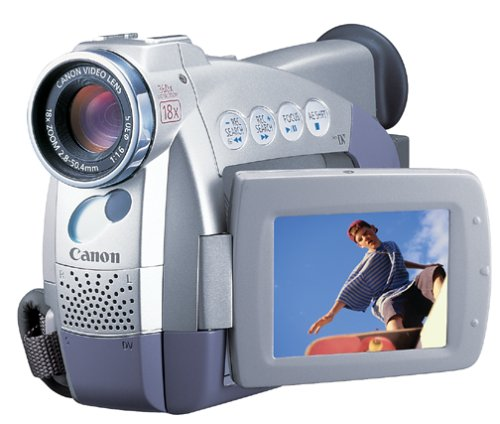 "Canon ZR40 MiniDV Digital Camcorder 2.5"" LCD Digital"