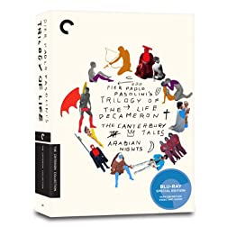 Trilogy of Life (The Decameron, The Canterbury Tales, Arabian Nights) (Criterion Collection) [Blu-ray]