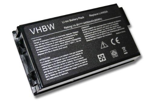 4400MAh batterie 14,8 v pour ordinateur portable équivalent 40006971 101069 101339 101340 101341 101343 102738