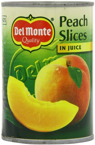 Del Monte Peach Slices in Juice 415 g (Pack of 12)