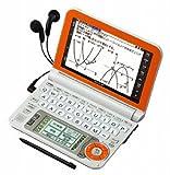 SHARP 電子辞書 Brain (ブレーン) PW-G5000 オレンジ PW-G5000-D 高校生 130コンテンツ 160動画 カラ-液晶 Wタッチ画面 Power Body 5.6型タッチパネル