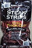 Kirkland Signature Premium Beef Steak Strips Jerky 12 Oz