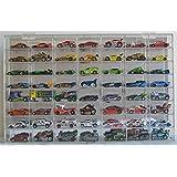 Hot Wheels Display Case 56 compartment for 1/64 scale Nascar Diecase Pixar Car Redline (AHW64-56) (Color: Pantshop Mario Kart Cars - Set of 513)