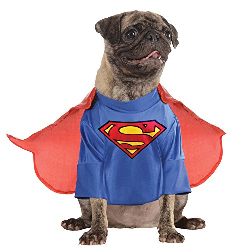 costume accessories - Cat & Dog Costume Superman Xl