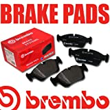 REAR Brembo Brake Pads SUBARU IMPREZA Estate (GF) 2.0 Turbo GT 4WD 06/98 TO 12/00