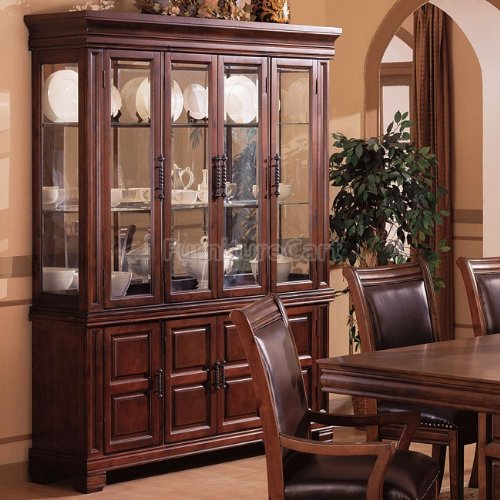 Cheap 3638 Westminster China Cabinet with Glass Doors and Buffet by Coaster (B007V5P9JY)