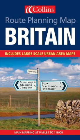 Route Planning Map: Britain PDF