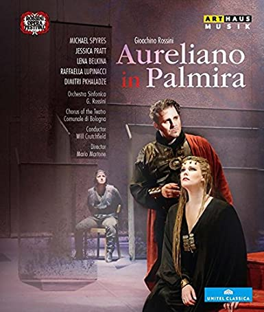 Amazon.co.jp | ロッシーニ:歌劇「パルミラのアウレリアーノ」[Blu-ray ...